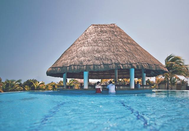 resort, hotel, pool