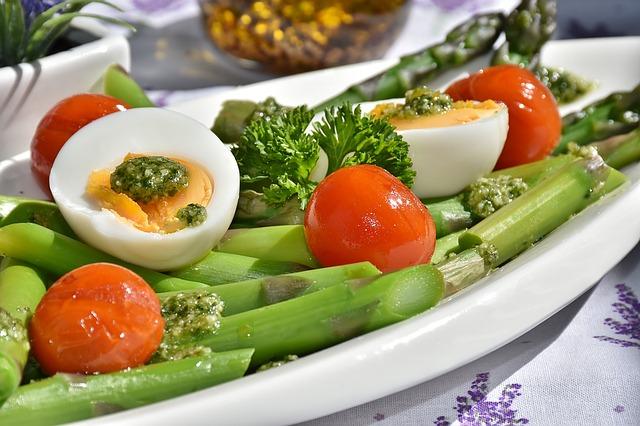 asparagus, green, green asparagus